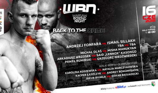 Warsaw Boxing Night – 16.06 – Torwar